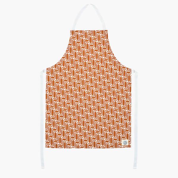 patterned kitchen textiles